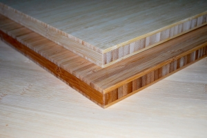 "3/4"" Cross-laminated 3-ply Bamboo Panel"